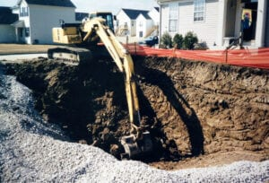Antioch, IL. Foundation Dig