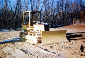 Hebron, IL. Land Clearing & Grading