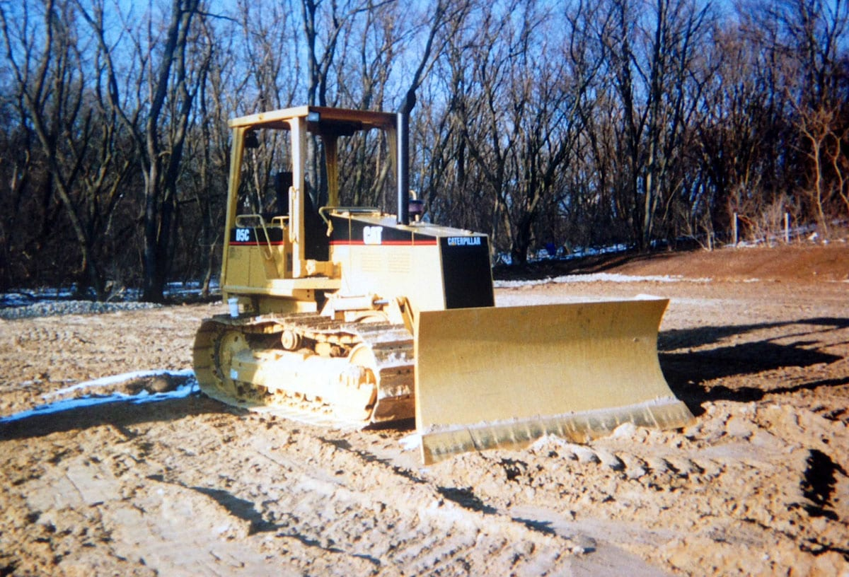 Demolition services being performed in Antioch, IL